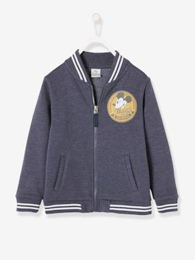 Boys-Coats & Jackets-Jackets-Mickey® Fleece Jacket with Lining