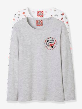 Vertbaudet Collection-Girls-Pack of 2 Minnie® Tops