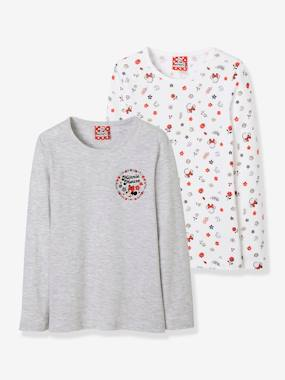 Winter collection-Girls-Underwear-T-Shirts-Pack of 2 Minnie® Tops