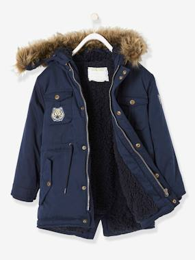 garcon-urbanjungle-Plush-Lined Parka for Boys