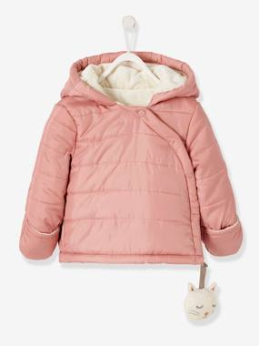 Vertbaudet Sale-Baby-Outerwear-Hooded Coat for Newborn Babies