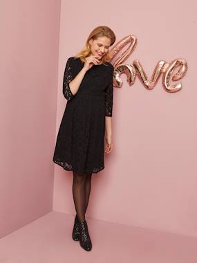 Maternity-Dresses-Occasion Maternity Dress in Lace