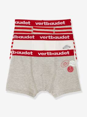 Collection Vertbaudet-Lot de 3 boxers stretch garçon