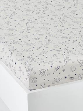 Bedding & Decor-Child's Bedding-Fitted Sheets-Fitted Sheet for Children, Planets Theme