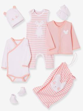 Vertbaudet Sale-Baby-6-Piece Set with Large Motif for Newborns