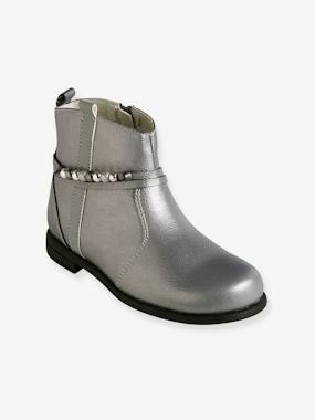 Shoes-Girls Footwear-Ankle Boots-Boots for Girls with Decorative Tab