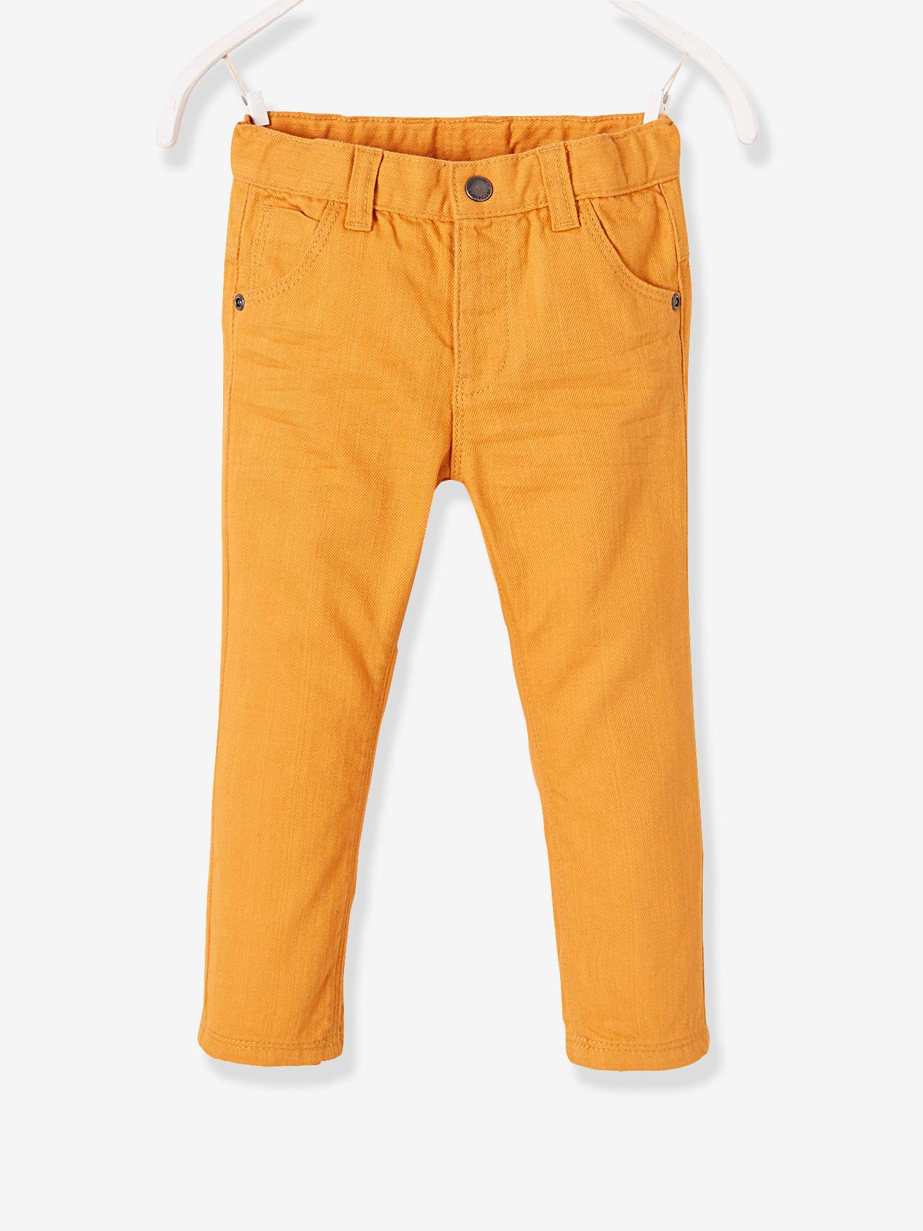 Baby Boysu0027 Straight Cut Trousers GREEN DARK SOLID+GREY DARK SOLID+ORANGE