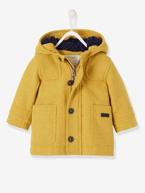 Baby-Baby Boys' Padded Duffle Coat with Warm Lining