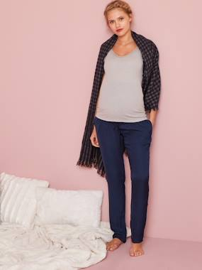 Vertbaudet Sale-Maternity-Nightwear & Loungewear-Supersoft Loungewear Bottoms