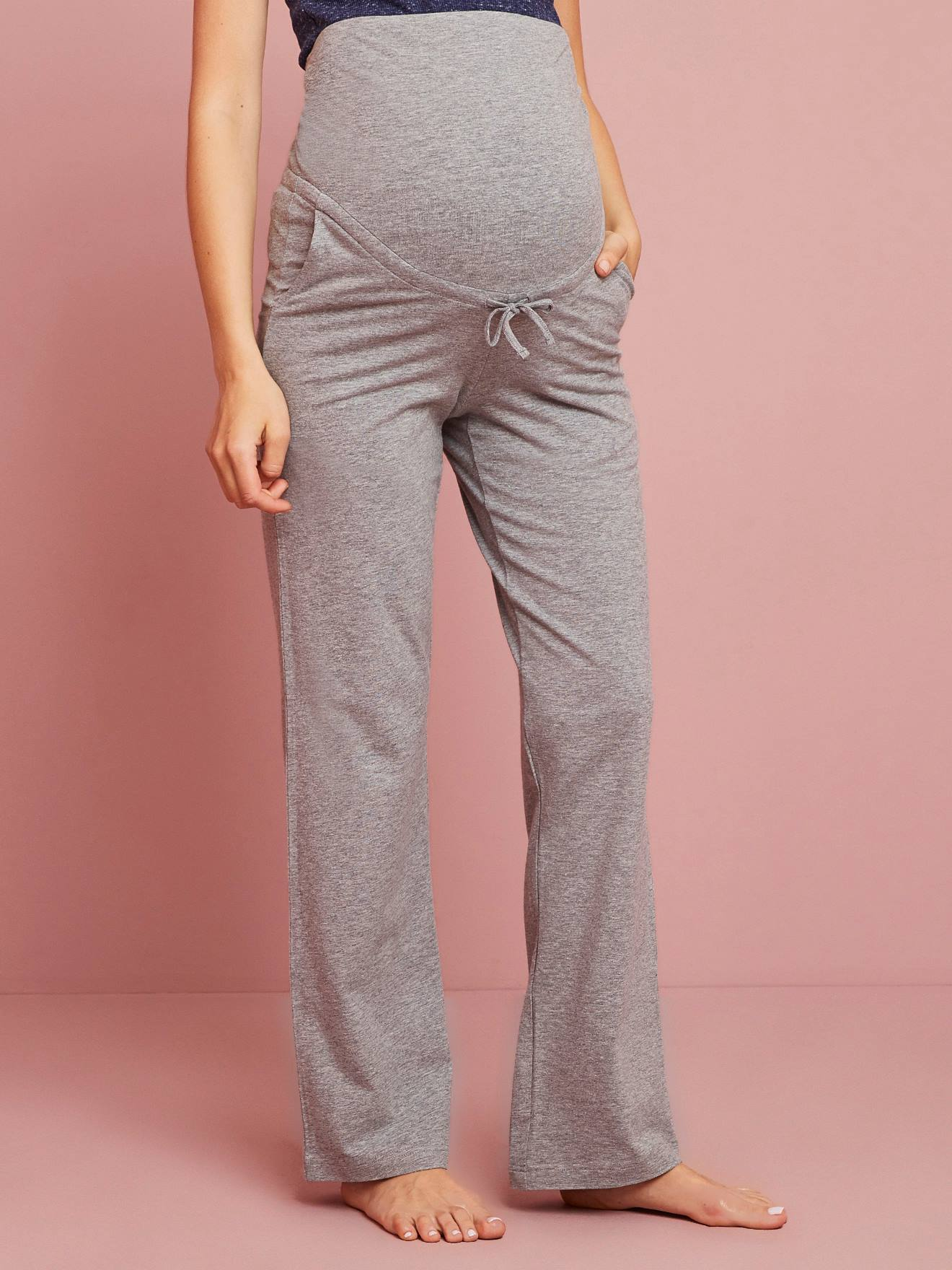 531ca52e93 Before-After Yoga Trousers - grey medium mixed color, Maternity