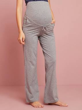 Maternity-Trousers-Before-After Yoga Trousers