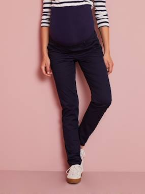 Vertbaudet Collection-Maternity-Maternity Chino Trousers, Inside Leg 31''