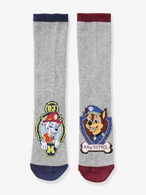 Vertbaudet Collection-Boys-Pack of 2 Pairs of Paw Patrol® Socks