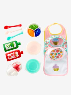 Toys-Mealtime Set for Doll