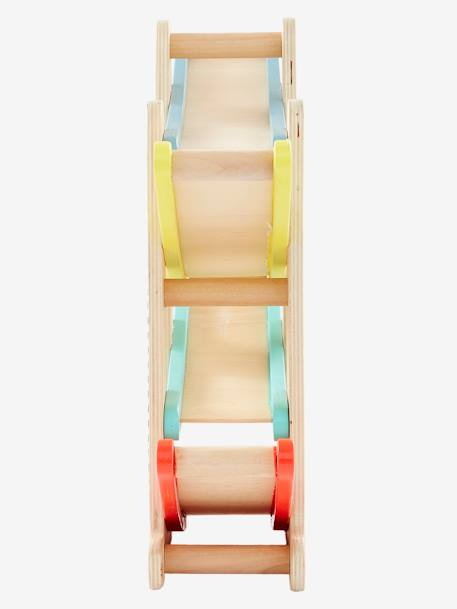 Wooden Car Slide BLUE MEDIUM TWO COLOR/MULTICOL - vertbaudet enfant