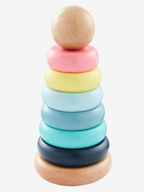 Toys-Baby's First Toys-Wooden Activity Pyramid