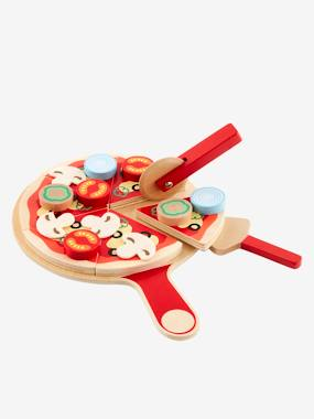 Christmas collection-Toys-Kitchen Toys-Wooden Pizza Set