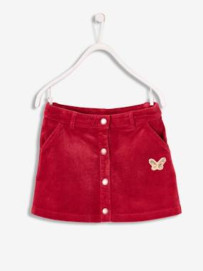 Girls-Skirts-Corduroy Skirt for Girls