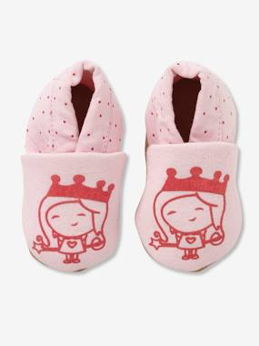 Shoes-Baby Footwear-Slippers & Booties-Elasticated Textile Shoes for Babies