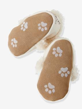 Shoes-Baby Footwear-Slippers & Booties-Soft Leather