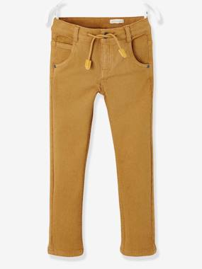 Vertbaudet Sale-Boys-Trousers-Straight Cut Trousers for Boys