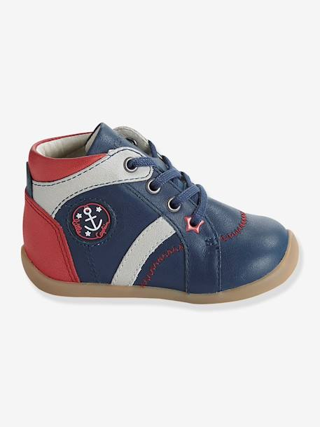 Boys Boots, Designed For First Steps Blue - vertbaudet enfant