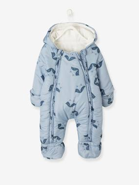 Vertbaudet Sale-Convertible Baby Snowsuit