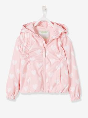 Mid season sale-Girls-Coats & Jackets-Windcheater with Fleece Lining for Girls
