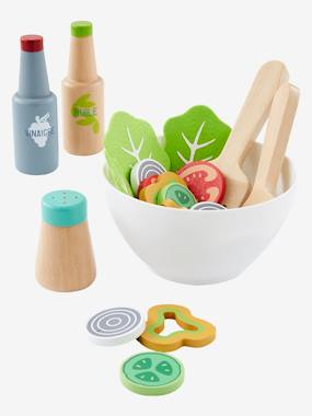 Collection Vertbaudet-Jouet-Set de salade en bois