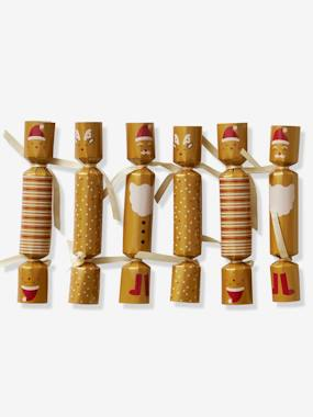 Vertbaudet Collection-Decoration-Set of 6 Christmas Crackers