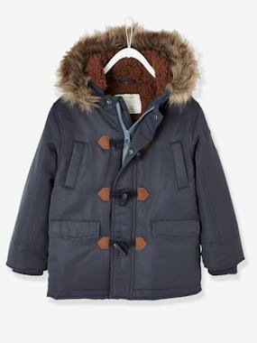 Vertbaudet Collection-Parka with Lining & Hood, for Boys