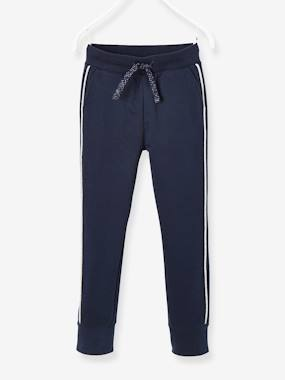 Vertbaudet Collection-Girls-Sportswear-Jogger-Type Trousers for Girls