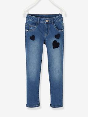 The Adaptables Trousers-Girls-WIDE Hip, Straight Leg Jeans for Girls
