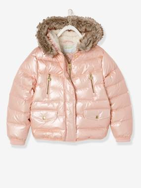 Vertbaudet Sale-Down Jacket with Star Print for Girls