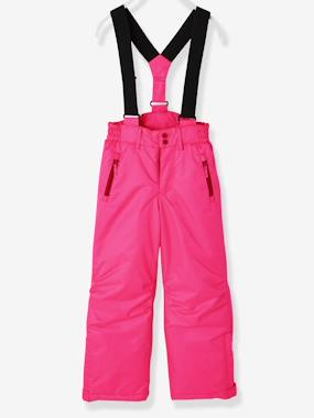 Vertbaudet - Trousers girls boys and babys-Girls-Girls' Ski Trousers