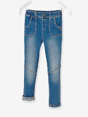 Dress myself-LARGE Fit, Boys' Slim Fit Jeans