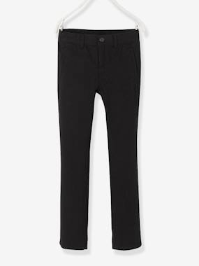 Vertbaudet Sale-Boys-Trousers-Chinos in Fancy Fabric for Boys