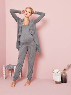 Vertbaudet Sale-Maternity-Nightwear & Loungewear-Maternity & Nursing Loungewear 3-Piece Kit