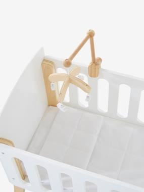 Toys-Dolls & Accessories-Wooden Mobile for Doll's Bed