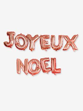 Bedding & Decor-Decoration-Balloons in Mylar, JOYEUX NOEL