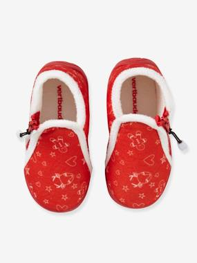 Shoes-Baby Footwear-Slippers & Booties-Baby Shoes with Fur