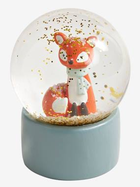 Decoration-Decoration-Decorative Accessories-Fox Snow Globe