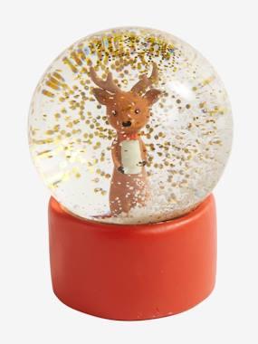 Decoration-Decoration-Decorative Accessories-Reindeer Snow Globe