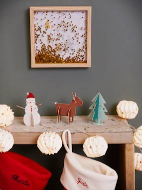 Bedding & Decor-Decoration-Wall Décor-Christmas Tree Picture, with Glitter