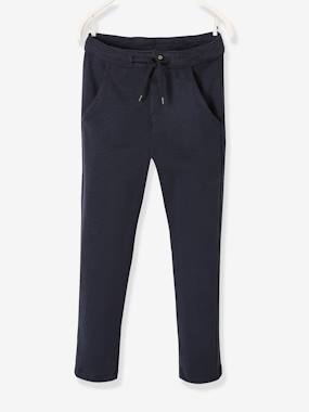 Vertbaudet Sale-Boys-Trousers-Warm Fleece Trousers for Boys