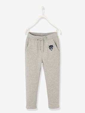 Vertbaudet Sale-Boys-Trousers-Straight Cut Trousers with Lining for Boys