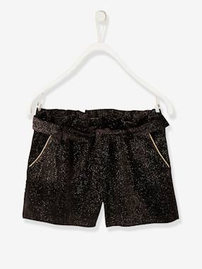 Festive favourite-Girls-Iridescent Shorts for Girls