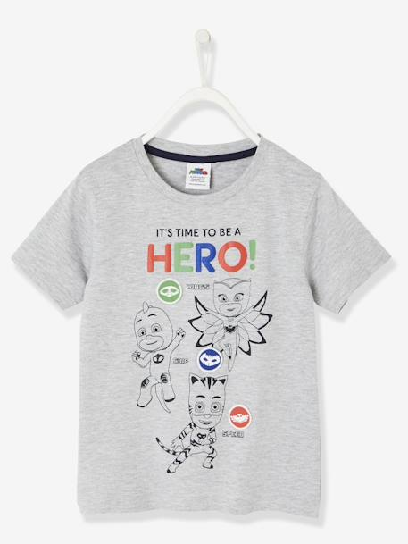 47447f85c PJ Masks® T-Shirt with Removable Patches - grey light mixed color ...