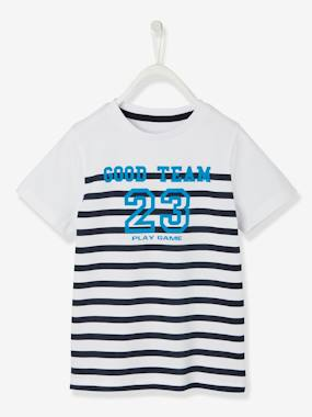 Boys-Tops-T-Shirts-Striped T-shirt for Boys