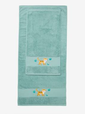 Bedding-Bathing-Tiger Bath Towel